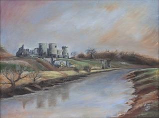 Rhuddlan Castle, Denbighshire