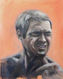 Steve McQueen - Unfinished portrait